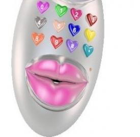 Riprodurre un bacio con il cellulare