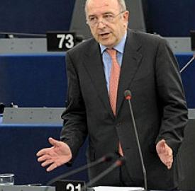 Il commissario Joaquin Almunia
