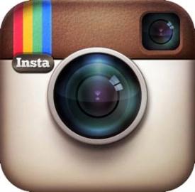 Il logo dell'applicazione Instagram