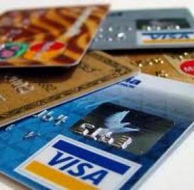 Carte di credito: Visa e Mastercard