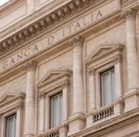Bankitalia: rialzo tassi mutui