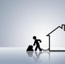La richiesta di mutui scende del 46% rispetto al 2011