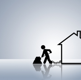 Mutui ipotecari in calo © Dirk Ercken  Dreamstime . com
