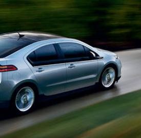 La vettura elettrica Chevrolet Volt