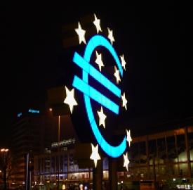 Finanziamenti Bce: crescita lenta