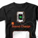 Dagli U.S.A. la t-shirt che ricarica il cellulare