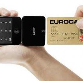 Carta di credito, pagamenti con iZettle