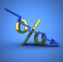 L'euro in discesa su dollaro e yen