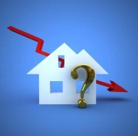 Il mercato immobiliare è ancora in flessione