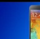 Un dettaglio del Galaxy Note 3