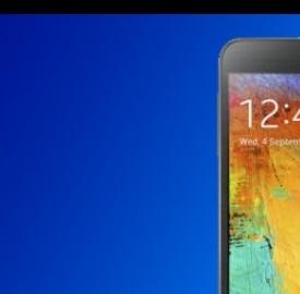 Un'immagine di Samsung Galaxy Note 3