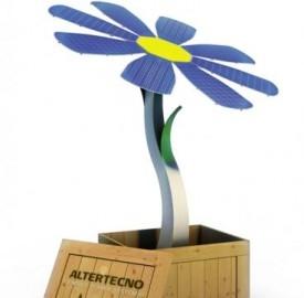 I girasole, fiore fotovoltaico, è un'idea per ottimizzare i raggi del Sole