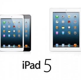 Doppia versione per iPad 5 come per l'ultimo iPhone 5, ipotesi e data di uscita
