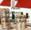 Mutui agevolati ai giovani, il Fondo di Garanzia
