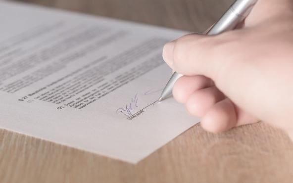 La firma è l'unica garanzia