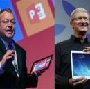 iPad Air vs Nokia Lumia 2520: specifiche a condronto