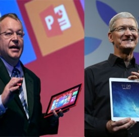 iPad Air vs Nokia Lumia 2520: specifiche a condronto