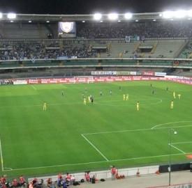 Domani si gioca allo stadio Bentegodi Verona-Samp