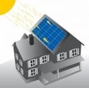 Impianto fotovoltaico su un tetto condominiale