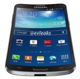 Samsung Galaxy Round con schermo curvo.