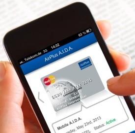 Carte di credito virtuali, arriva l'App Mobile Aida di AirPlus