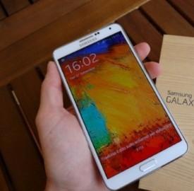 Un'immagine del tablet della Samsung
