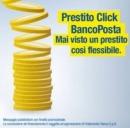 Prestito Click BancoPosta scade il 29 novembre