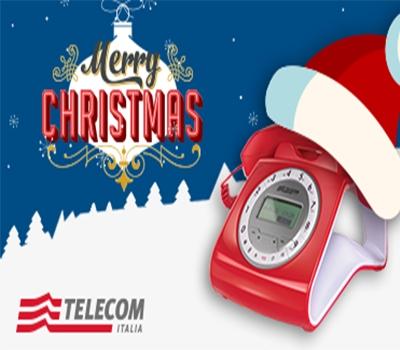 Telecom augura buon Natale con 'Attiva tutto'