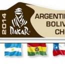 Il logo ufficiale della Dakar 2014