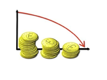 Taglio ai prestiti per imprese e famiglie