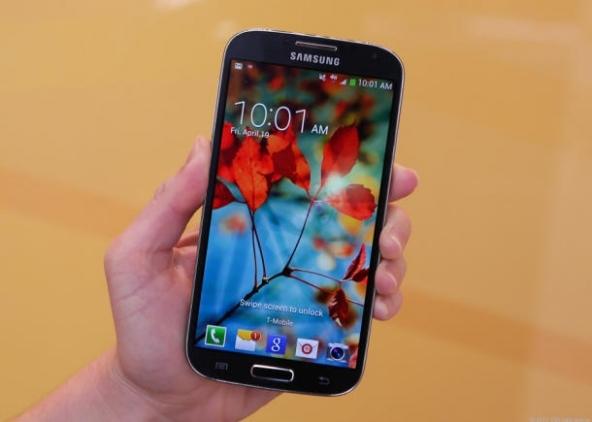 Nell'immagine il Samsung Galaxy S4