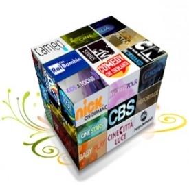 I canali on demand di Cubovision divisi per sezione