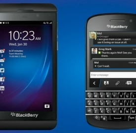 BlackBerry Z10 - Q10