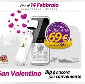 L'offerta di San Valentino di Bip Mobile