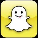 Il logo dell'app Snapchat