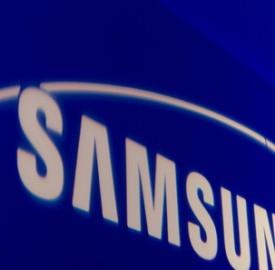 Logo della casa Samsung