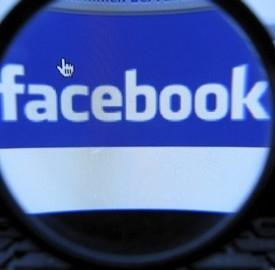 Il logo di Facebook.
