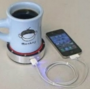 Un caffè bollente o una bevanda ghiacciata possono ricaricare il cellulare