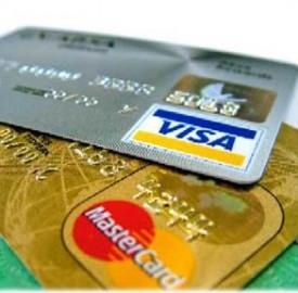 Un esempio di carte di credito