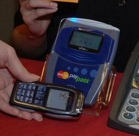 Pagamento con lo smartphone