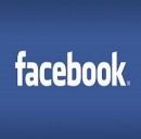 Il logo del noto social network Facebook