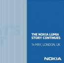 L' invito per il 14 maggio recita Nokia Lumia story continues