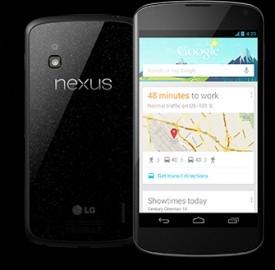Nexus 4 di Google, la data di uscita, il prezzo di lancio e le caratteristiche