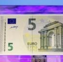 Nuova banconota da 5 euro? l'aggiornamento é caro