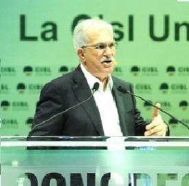 Bonanni (Cisl) e la ricetta per salvare l'Italia