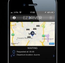 ezDrive, l'app italiana per chiamare NCC o taxi