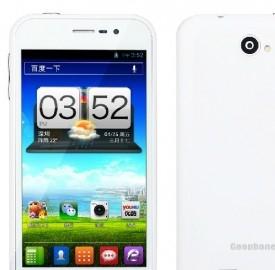GooPhone X1, lo smartphone cinese Android quad-core più economico al mondo