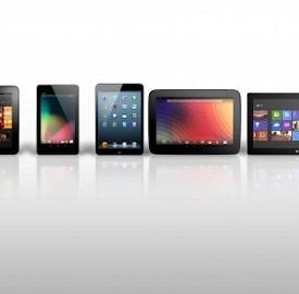 Tablet Apple e Samsung con display più grandi
