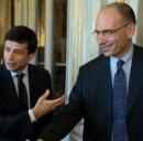 Il premier Letta ed il ministro Lupi soddisfatti per il Piano Casa