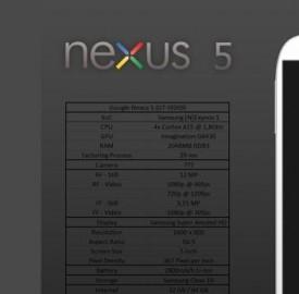 Nexus 5: il nuovo phablet di Motorola